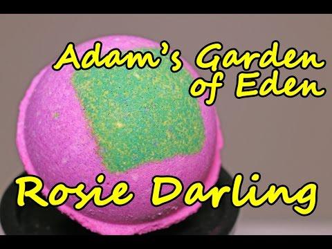 Adam's Garden of Eden - Rosie Darling Bath Bomb - DEMO - Underwater View - Review