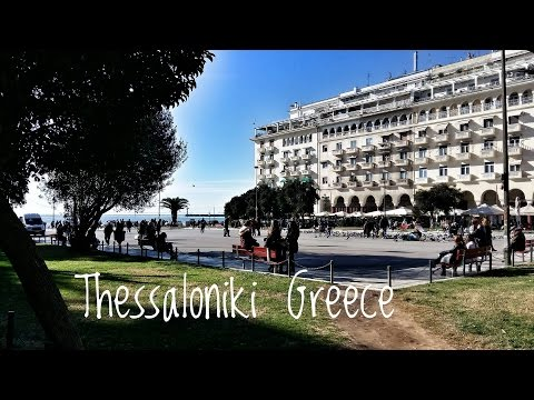 GREECE THESSALONIKI Travel Vlog