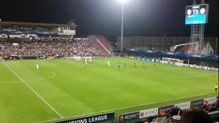 cfr cluj manchester united 1 2 gol van persie