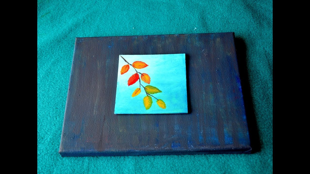 Small Canvas Painting Beautiful Ideas Easy Acrylic Youtube