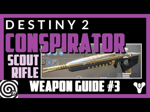 Destiny 2 - Conspirator | Raid Scout Rifle - Weapon Guide #3