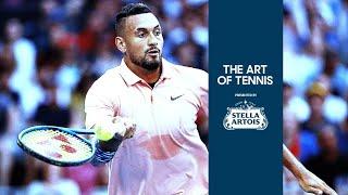 The art of tennis: Nick Kyrgios