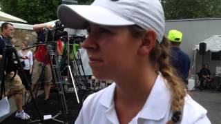 Amateur Kristen Gillman on playing alongside LPGA stars Michelle Wie and Mo Martin