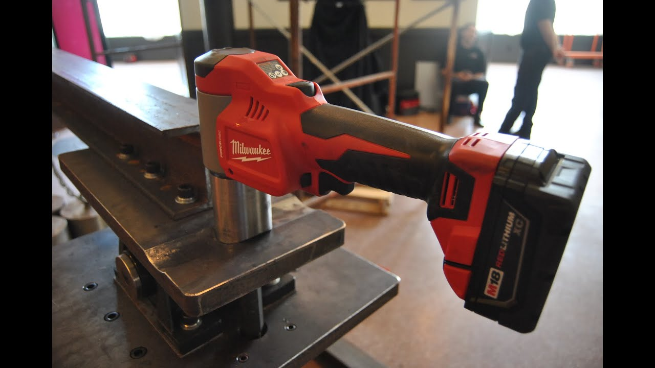 The Power Test of Milwaukee Tool's Knockout System