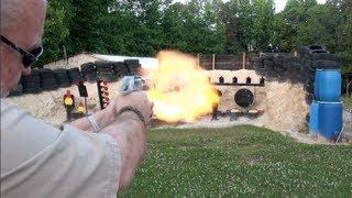 Desert Eagle .50 Cal Shooting