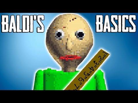 OVO JE HOROR IGRICA?! -  Baldi's Basics