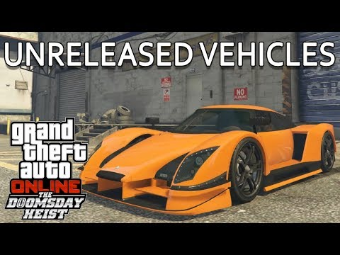 Hidden Vehicles in Doomsday Heist DLC Test Drive & Customization Options | GTA Online