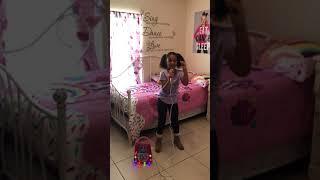 Jojo Siwa Karaoke song Boomerang by my daughter Zoe!!!