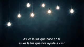 La luz que nace en ti (letra y karaoke)