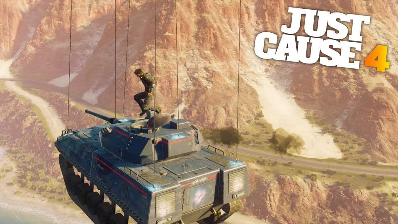 Just Cause 4 - MOST STEALTHY FLYING TANK IN THE WORLD ...