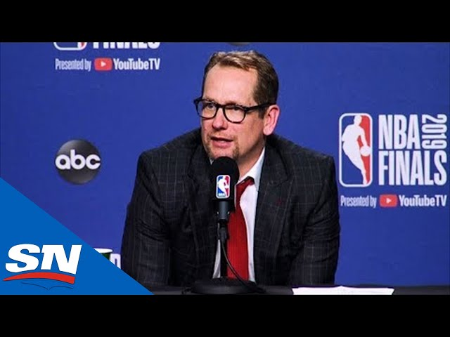 Nick Nurse Still Happy To Have 3-2 Lead Heading To Game 6 Of Raptors Vs. Warriors