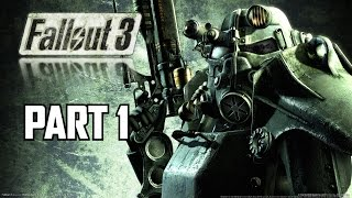 Fallout 3 Let's Play Part 1 - PC 1080P Max Settings Gameplay