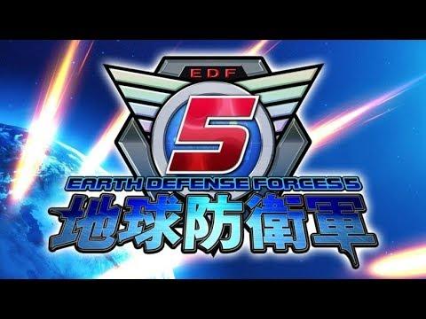 Earth Defense Force 5 Live Stream