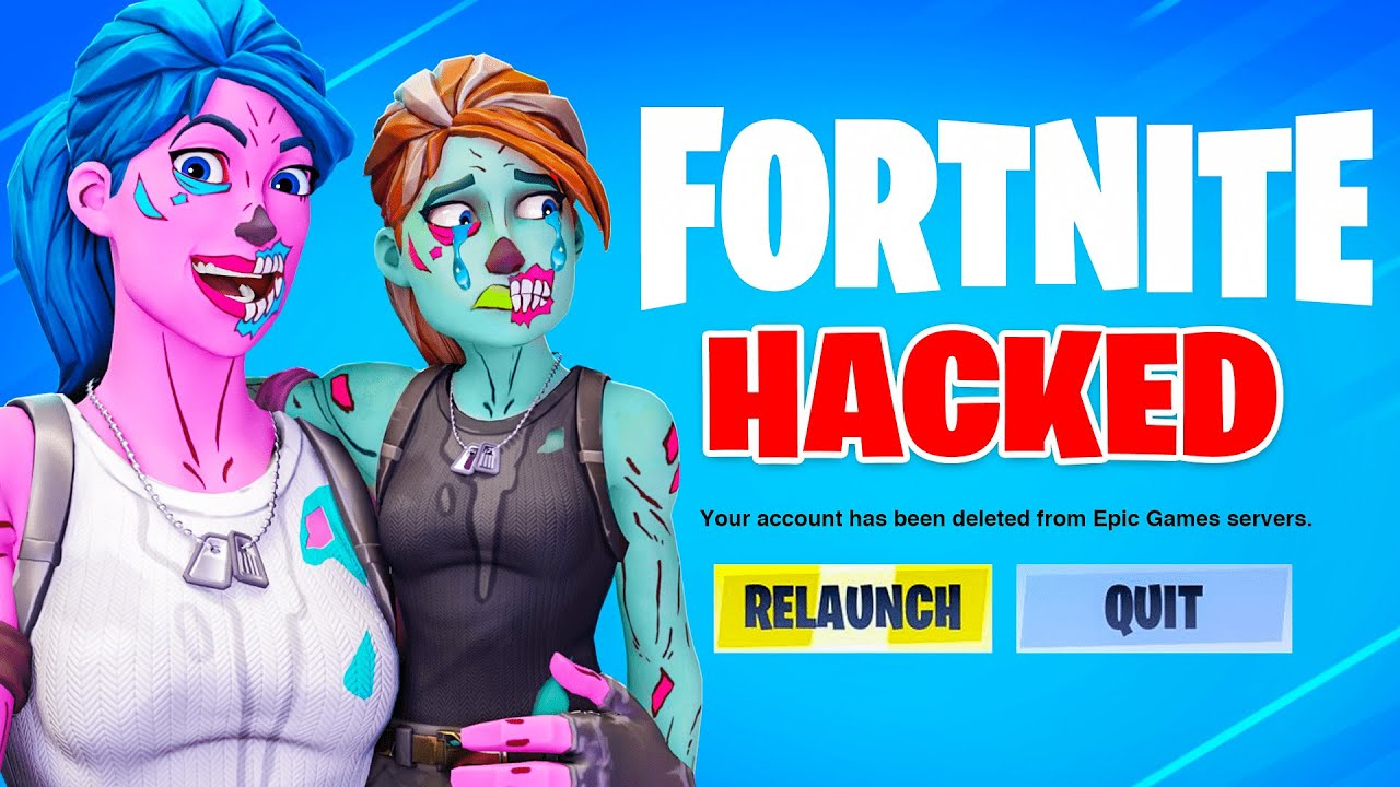 Fortnite Colorblind Mode Hack I Hacked Baby Ghoulz He Cried
