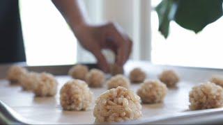 구수한 현미 누룽지, 이렇게 만들어 보세요! 현미 누룽지와 홈메이드 쌀 스낵!! :D