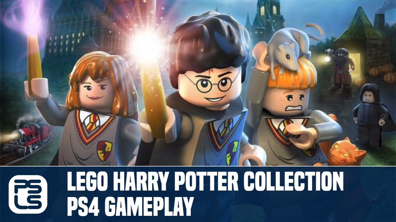 LEGO Harry Potter Collection PS4 Gameplay - YouTube