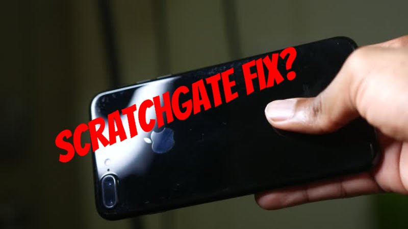online store 37fa2 6d151 Will This Remove Jet Black iPhone 7 Scratches?
