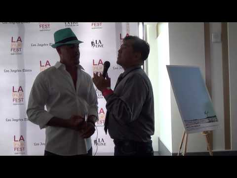 LAFF 2014 Red Carpet Interview withe Roberto Sanz Sanchez for Lake Los Angeles