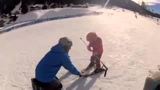 Teaching Lily to ski 1 Thumbnail