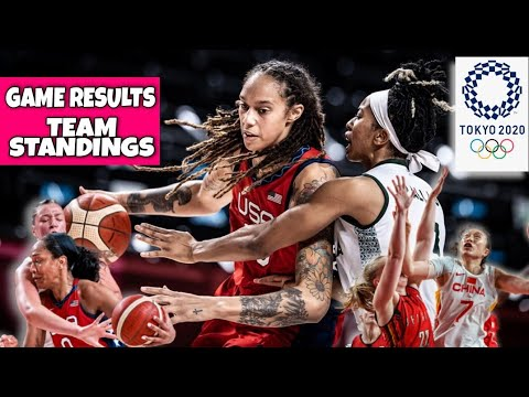 Download Women's Olympic Basketball Results and Standings | Tokyo Olympics