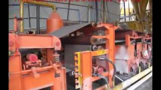 asbestos roof sheet machine