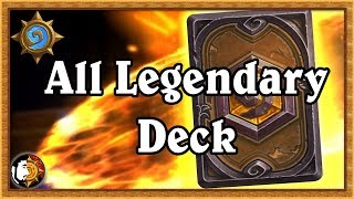 Hearthstone: All Legendary Deck - The Power Of Pay To Win