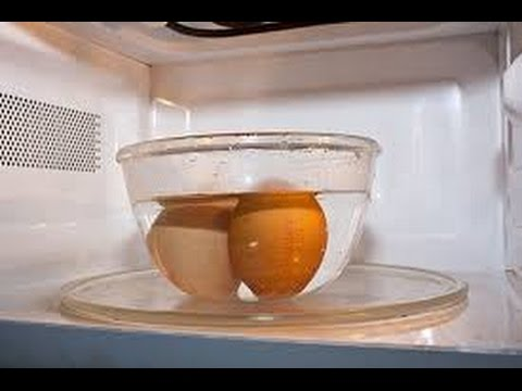 How To Make Hard Boil Eggs In Microwave Youtube