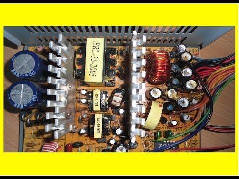 Пределка компьютерного блока питания для авто усилителя подробный выпуск