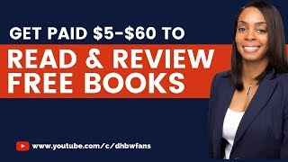 Today's topic covers where to find trusted book reviewing opportunities. these companies will pay you read books (completely free!) then write and submit ...