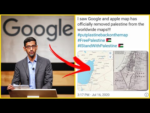 GOOGLE OFFICIALLY REMOVES PALESTINE FROM MAPS? BREAKING NEWS