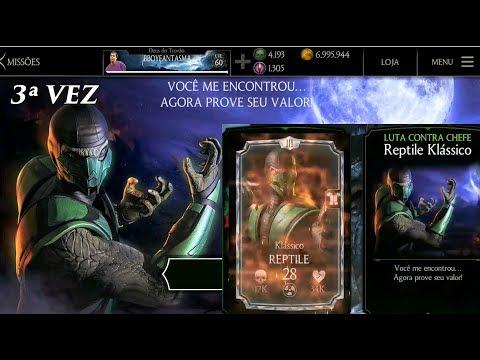 Mortal Kombat X - Missão Reptile Clássico thumbnail