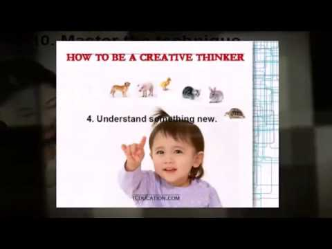 Ten Baby Steps to Creativity
