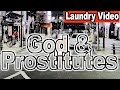 Man Searches for God & the Nasty in the Dark. [Answering Ur (ARGH!) Emails]- Laundry Video