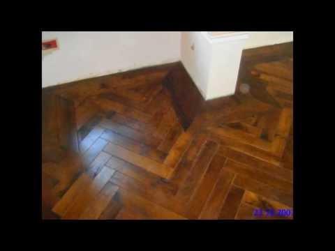 Hardwood flooring installation in Ajax