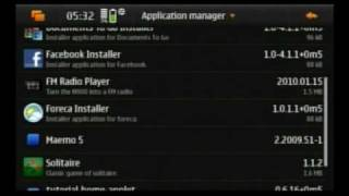 How to install apps and games on the Nokia N900