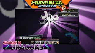 Minecraft | ENDER DRAGON FIGHTS | JAVA SMP [10]