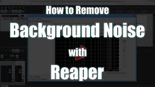 كيفية إزالة الضوضاء في الخلفية مع ريبر