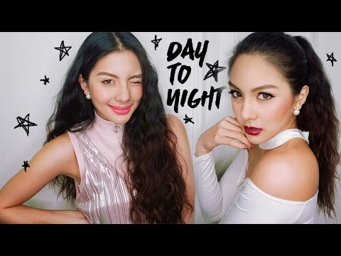 I'm not a sweet girl day to night makeup X mille    fahsarika