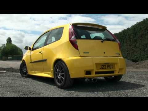Fiat Punto Hgt Abarth Supersprint Exhaust Youtube