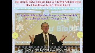 "Pastor. King, Salomon  "" DUC TIN VA SU BINH AN: """