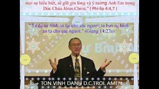 "Pastor. King, Salomon  "" DUC TIN VA SU BINH AN: """