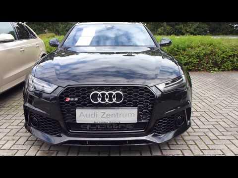 2017 Audi RS6 Avant Quattro 4.0 V8 605 Hp Twin-Turbo 310 Km/h 193 mph * Playlist