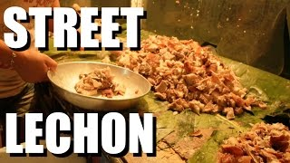 Must Eat Philippines Food: LECHON: Roasted Pork!