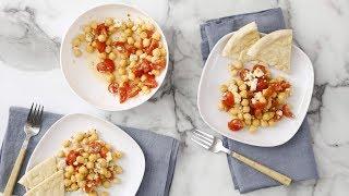 Chickpea, Cherry Tomato, and Feta Salad- Martha Stewart
