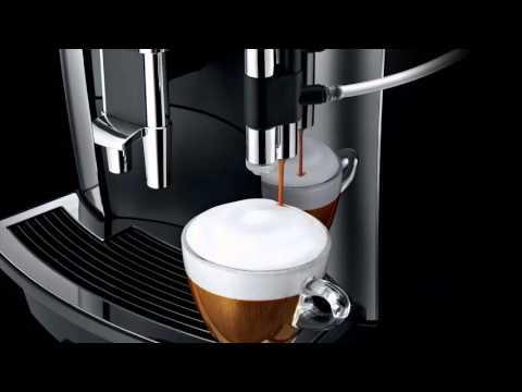 JURA WE8 Kaffeevollautomat Service Point