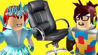 """Irmãos jogar: """"cadeira de corrida""""-Roblox"""