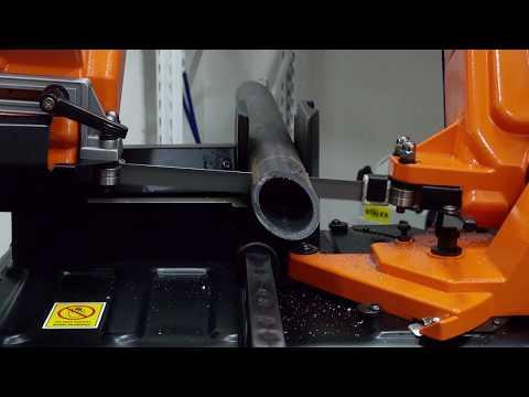 Ручной ленточнопильный станок по металлу STALEX BS-150