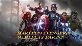 Marvel's Avenger's Gameplay Part-2