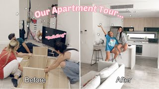 Our Apartment Tour... *finally* (modern/minimalistic) | Mescia Twins