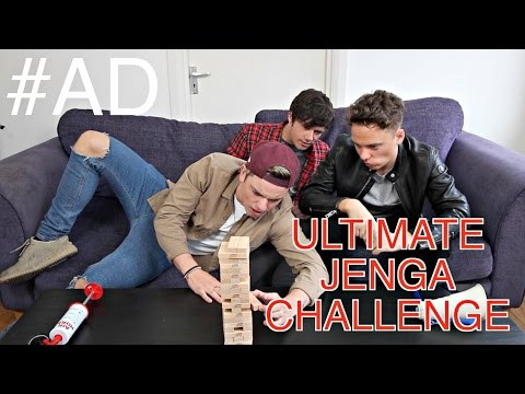 ULTIMATE JENGA CHALLENGE